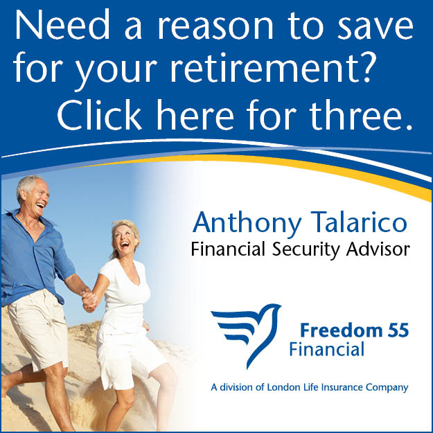 Anthony Talarico RRSP